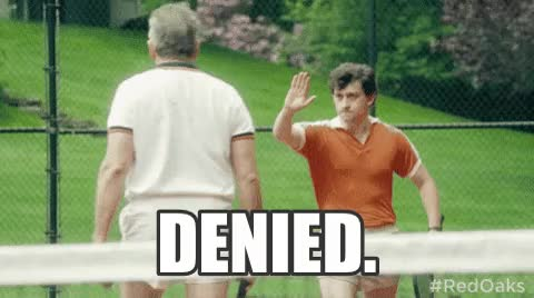 Watch denied GIF on Gfycat. Discover more related GIFs on Gfycat