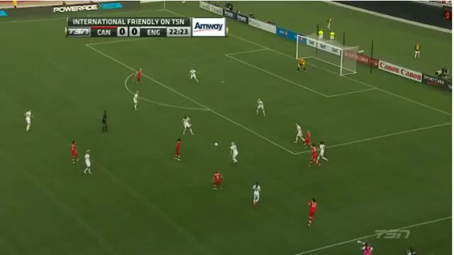 Watch and share Sophie Schmidt Goal From Canada Vs England Women's Friendly (reddit) GIFs by fat_guys_lag on Gfycat
