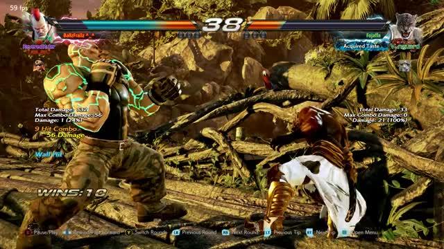 Watch and share Tekken 7 2021.02.16 - 15.36.36.46 GIFs by ballzfrallz on Gfycat
