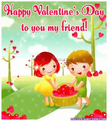 valentine friend GIFs