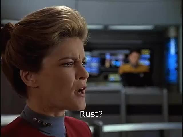 Watch Rust? GIF on Gfycat. Discover more kate mulgrew, spacex, star trek GIFs on Gfycat