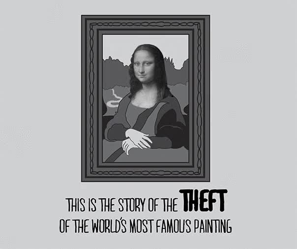 Watch and share Theft Of The Mona Lisa GIFs on Gfycat