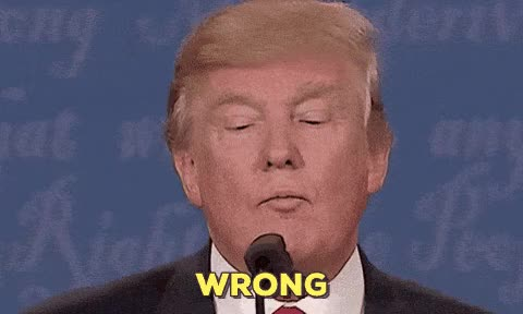 Watch donald trump wrong GIF on Gfycat. Discover more donald trump GIFs on Gfycat
