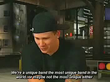 Watch Holly GIF on Gfycat. Discover more blink 182, blink-182, mark hoppus, my gifs, tom delonge, travis barker GIFs on Gfycat