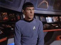Watch and share Spock, Star Trek, Space, Eyebrow, Raise Eyebrow GIFs on Gfycat
