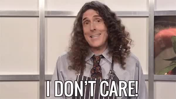Watch and share Weird Al Yankovic GIFs and I Don't Care GIFs on Gfycat
