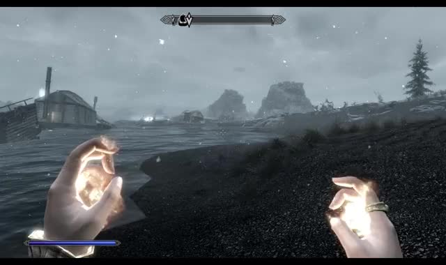 Watch and share Hitboxporn GIFs and Skyrim GIFs on Gfycat