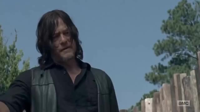 Watch and share The Walking Dead 8x12 - Rick Returns To The Hilltop GIFs on Gfycat