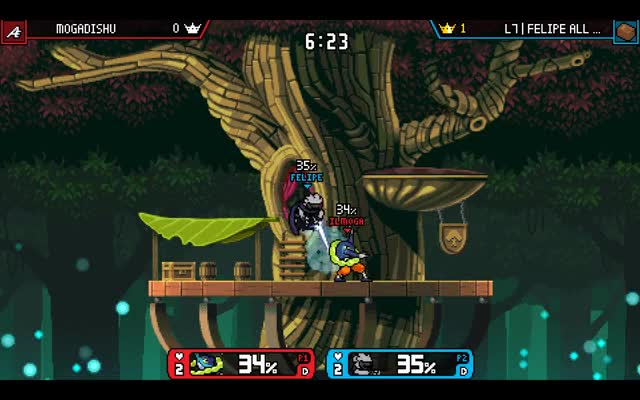 Watch and share Clairen Vs Mogadishu Ranno Treetop Trimmed GIFs on Gfycat