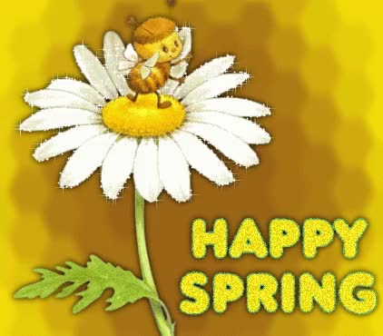 Watch and share Happy Spring Glitter Scrap GIFs on Gfycat