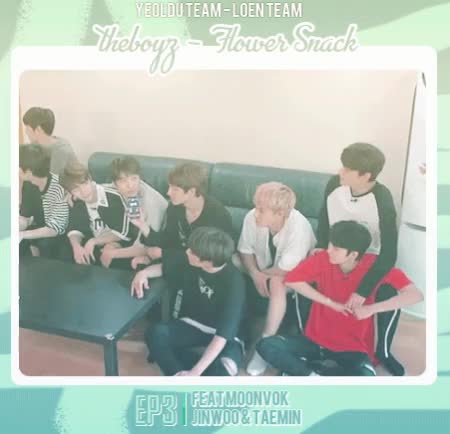 Watch THE BOYZ 'Flower Snack' Ep.3 GIF on Gfycat. Discover more related GIFs on Gfycat