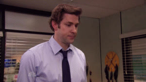john krasinski, smile, the office, goodbye GIFs