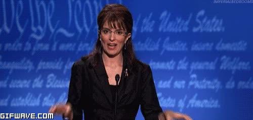 Watch and share Sarah Palin GIFs on Gfycat