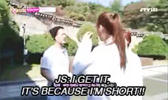 Watch the alien GIF on Gfycat. Discover more 1k, afterschool, elsamonica, got7, i cant help but ship, jackji, jackson wang, kara, kpop, kpop gifs, kvariety, lol, nana, roommate, so that's why they dont talk during taekkyeon class, theyre so cute, youngji GIFs on Gfycat