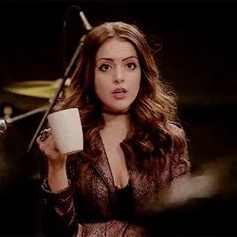 Watch and share Elizabeth Gillies GIFs and Denis Leary GIFs on Gfycat