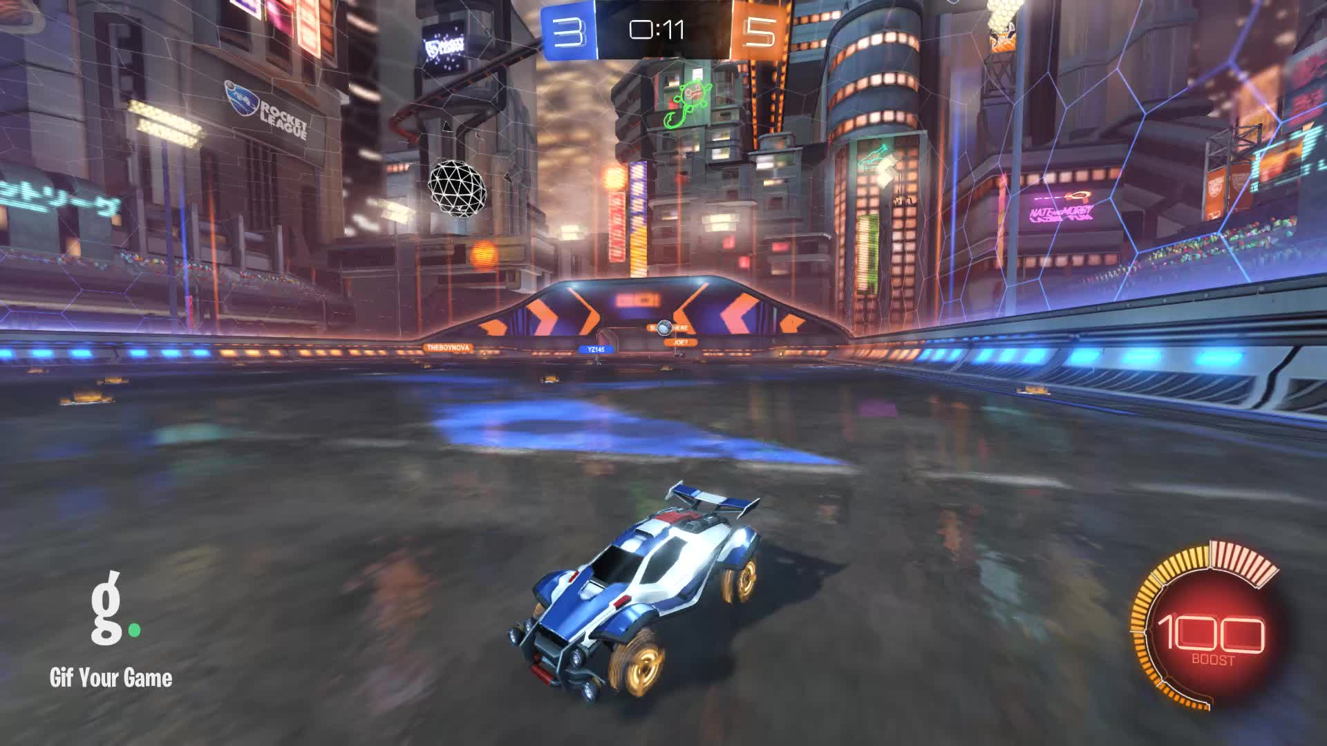 Gif Your Game, GifYourGame, ItWas...Justified, Rocket League, RocketLeague, Save, Save 2: ItWas...Justified GIFs
