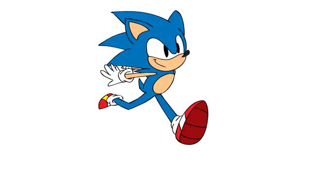 Watch and share Sonic By Janimationsdeviant GIFs on Gfycat