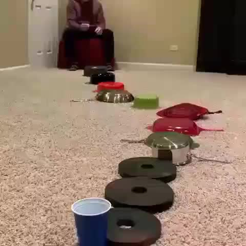 Watch and share Ping Pong Trick Shot GIFs by tothetenthpower on Gfycat