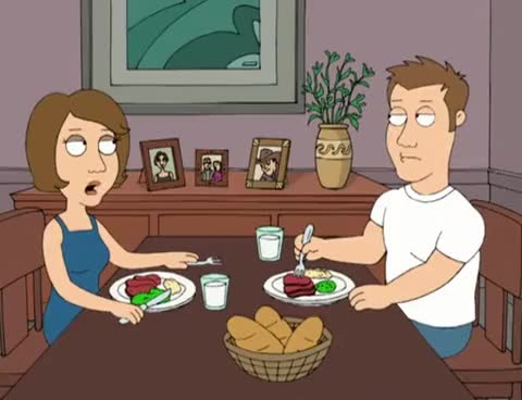 Watch and share Maggie And Jake Argue - Family Guy - S06E02 GIFs on Gfycat