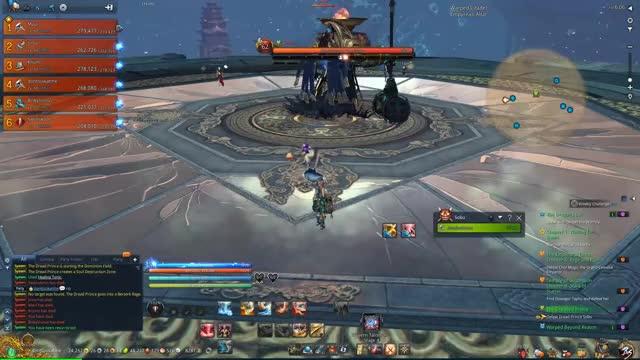 Watch and share Blade & Soul [NA] Warped Citadel (Sobu) + Happy Ending !! (1) 00 00 01-00 00 04 GIFs on Gfycat
