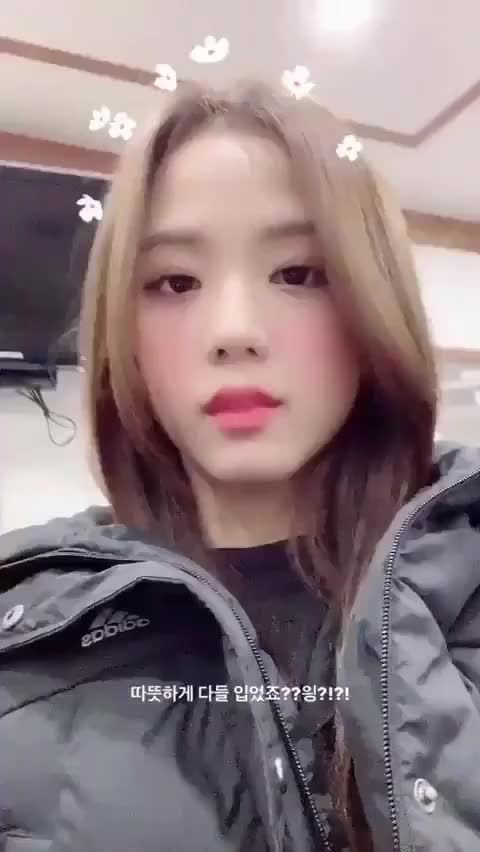 Watch and share Adorable Jisoo (BLACKPINK) GIFs by vetral on Gfycat