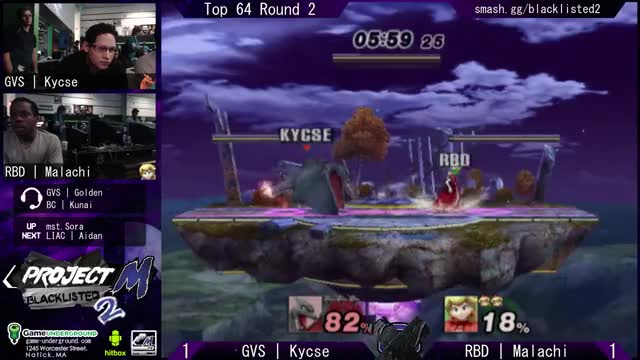 Watch and share Blacklisted 2 Top 64 - Kycse (Charizard) Vs. RBD Malachi (Peach) (1) GIFs by l_pag on Gfycat