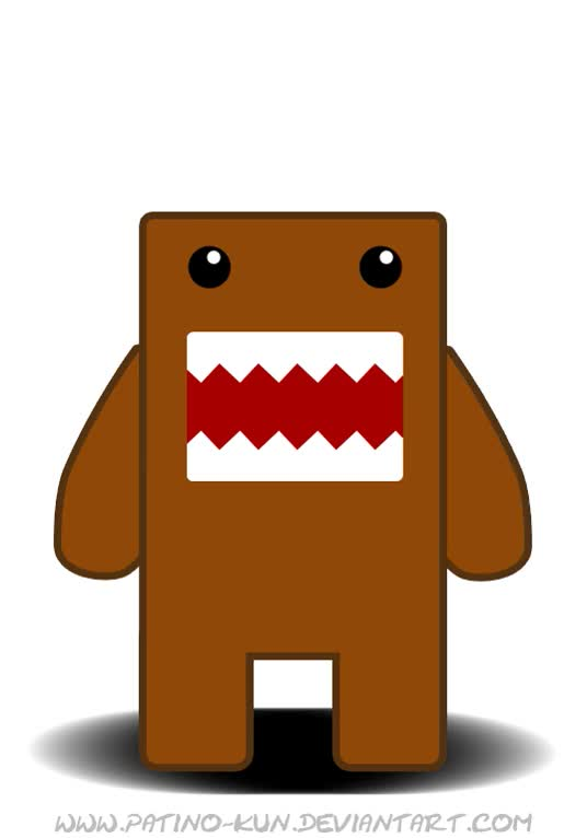 Watch and share Domo-kun By Yei-Pi  Watch Scraps©2008-2017 Yei-Pi GIFs on Gfycat