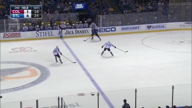 Perron goal against Avalanche 11/6/16