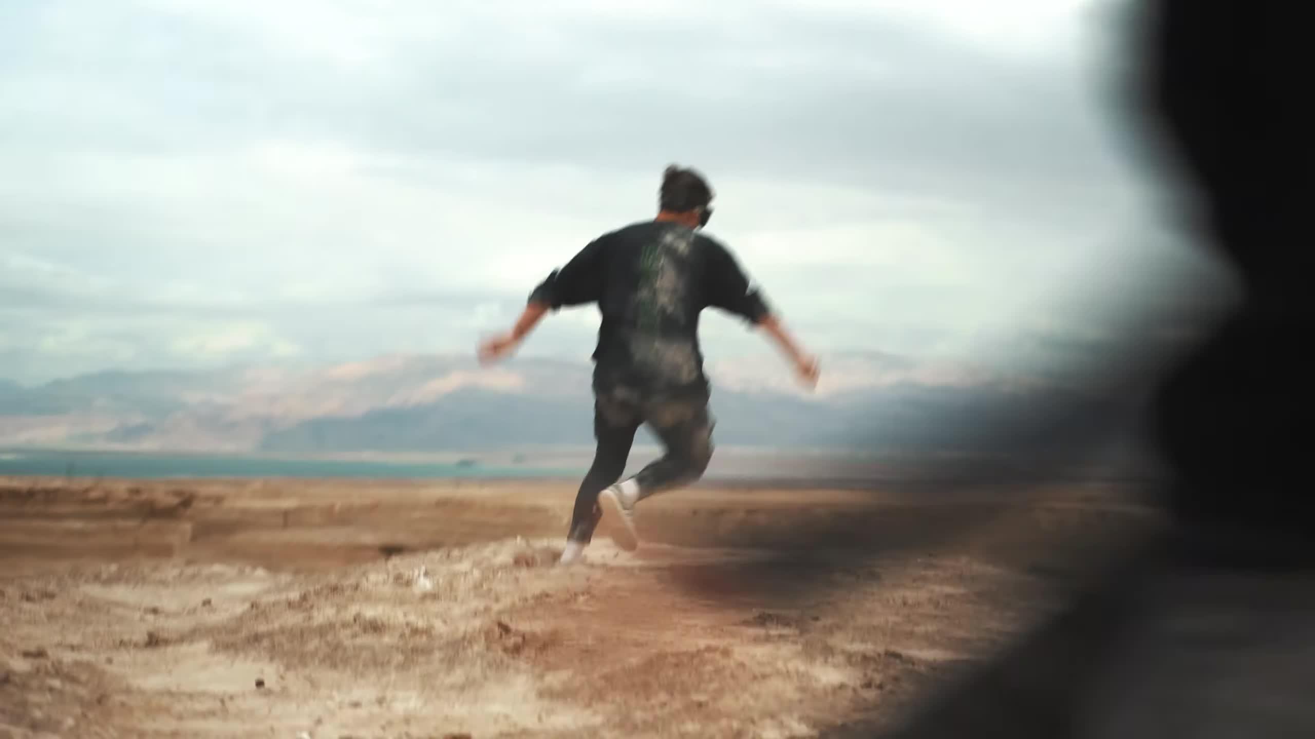 POV, Parkour, STORROR, STORROR youtube, desert, free running, masada, rampage, stunts, youtube STORROR, DESERT PARKOUR RAMPAGE GIFs