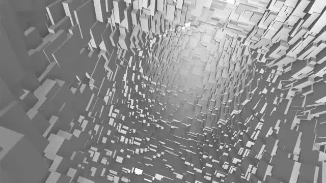 Watch and share Cubes Tunnel GIFs on Gfycat