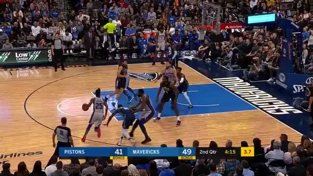 Watch and share Dallas Mavericks GIFs and Detroit Pistons GIFs on Gfycat