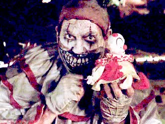 Watch scary clown pictures-twisty the clown GIF on Gfycat. Discover more related GIFs on Gfycat