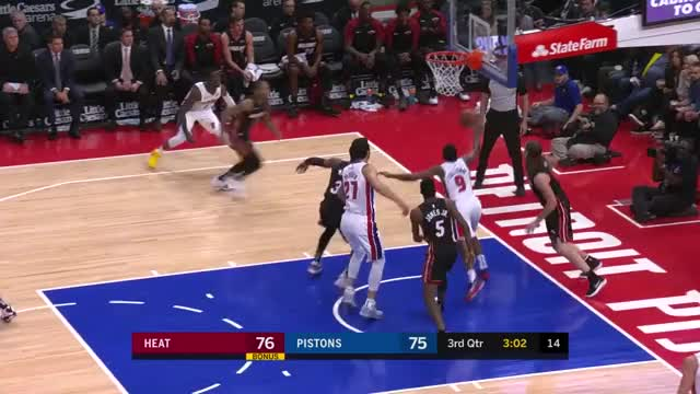Watch RJ off-hand crumbs GIF by Mike Snyder (@m_james_snyder) on Gfycat. Discover more Detroit Pistons, Miami Heat, basketball GIFs on Gfycat