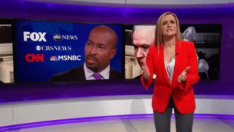 Watch and share Samantha Bee Rips Media For Gushing Whenever Donald Trump Sounds Even Semi GIFs on Gfycat