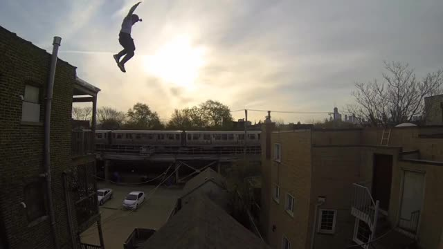 Watch and share Epic Roof Jump GIFs on Gfycat