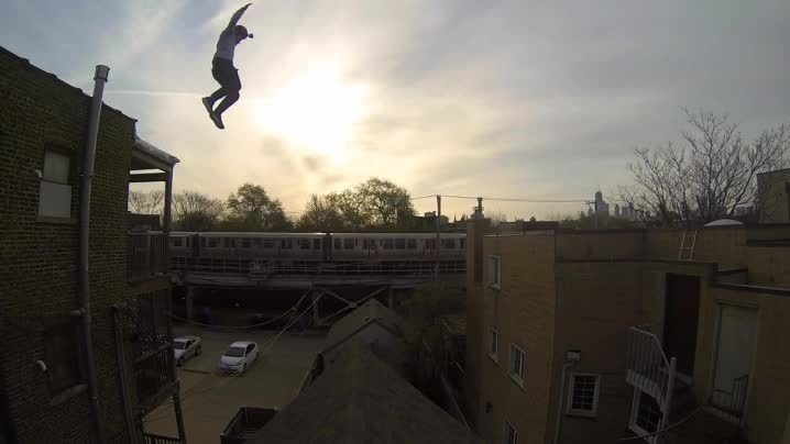 cinemagraphs, Epic Roof Jump GIFs