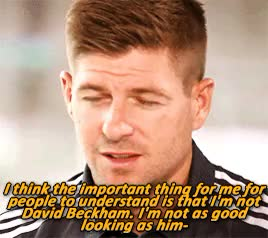 Watch (x) GIF on Gfycat. Discover more another to actively contradict stevie when he makes out he's not beautiful tbh, la galaxy, liverpool fc, my gifs, steven gerrard GIFs on Gfycat