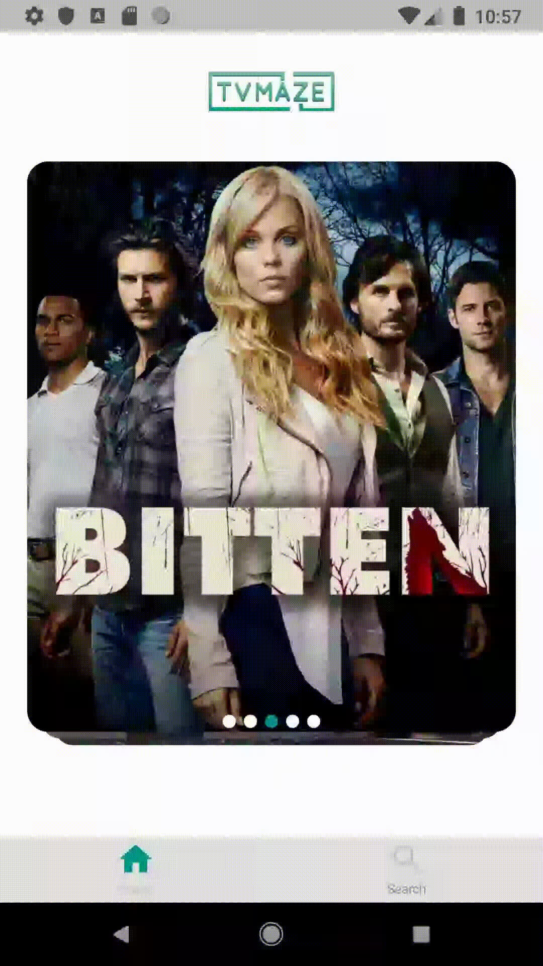 android, app, arrow, dart, design, flutter, ios, serie, truedetective, tv, tvmaze, tvshow, white theme GIFs