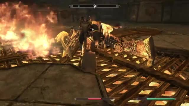 Watch and share Ps4share GIFs and Skyrim GIFs on Gfycat