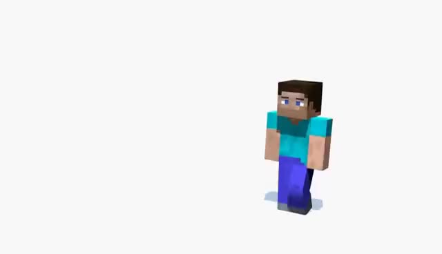 Watch and share Minecraft GIFs and Steve GIFs on Gfycat