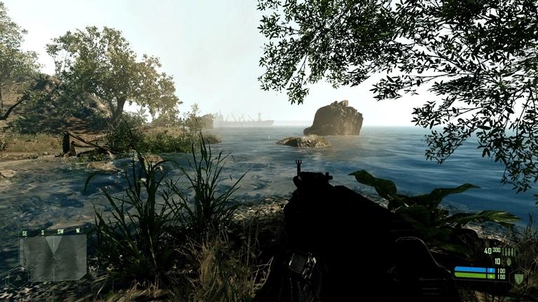 gaminggifs, [Crysis] Beautiful Water (reddit) GIFs