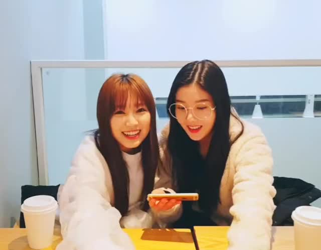 Watch 181123 IZONE Nako x Eunbi - Vlive (4) GIF by My Gif Factory (@forever9diadem) on Gfycat. Discover more related GIFs on Gfycat