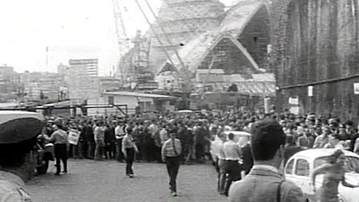 Watch and share Protesters Rally For Utzon's Work To Continue On Opera House GIFs by kieranricketts on Gfycat