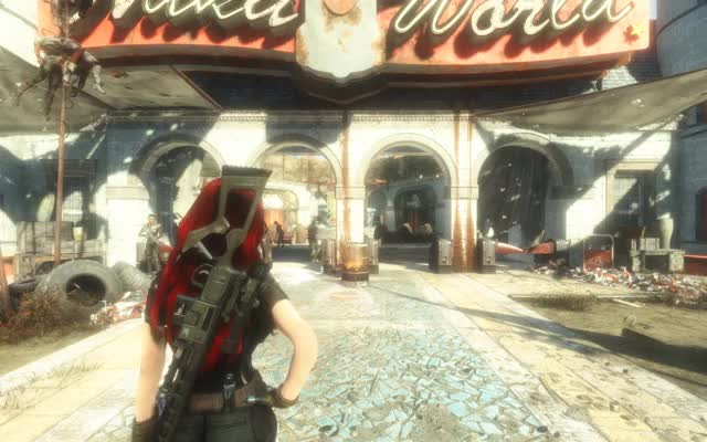 Watch and share Hair Physics GIFs and Fallout 4 GIFs by vsterminus on Gfycat