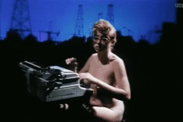 Watch Do you want me to write a memo? GIF by Beyond the Beaded Curtain (@dirtyvhs) on Gfycat. Discover more cafe flesh, dirtyvhs, memo, nude, nude typing, secretary, typewriter, typing, vintage porn GIFs on Gfycat