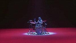 T_T, mine, these teasers are amazing, tw: epilepsy, tw: flashing images, wonder girls, yubin, Yubin  Drums GIFs