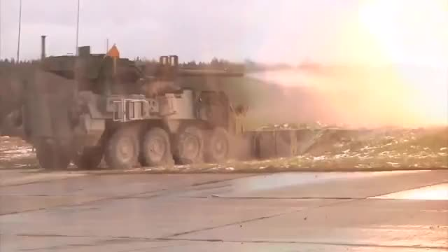 Watch and share M1128 Mobile Gun System (Stryker M1128 MGS) (reddit) GIFs on Gfycat