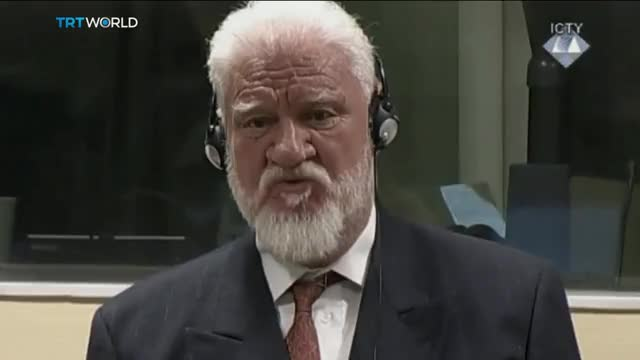 Watch and share Slobodan Praljak Commits Suicide By Drinking Poison During ICTY Decision GIFs on Gfycat