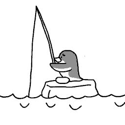 Watch and share Пингвин На Рыбалке GIFs on Gfycat