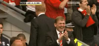 Watch this liverpool GIF on Gfycat. Discover more bcfc@liv4/23, kenny dalglish, liverpool fc, seal of approval GIFs on Gfycat